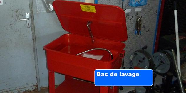 Bac de lavage flash m canique outillages martinique - Bac de lavage exterieur beton ...